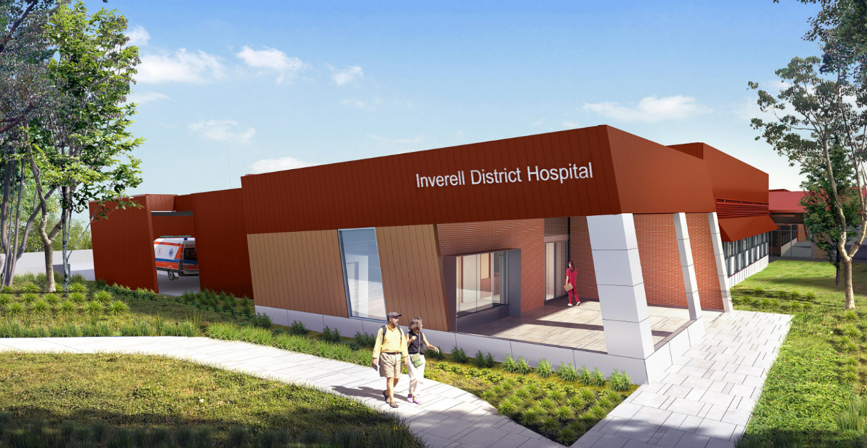 Inverell Hospital Redevelopment Health Infrastructure Nsw