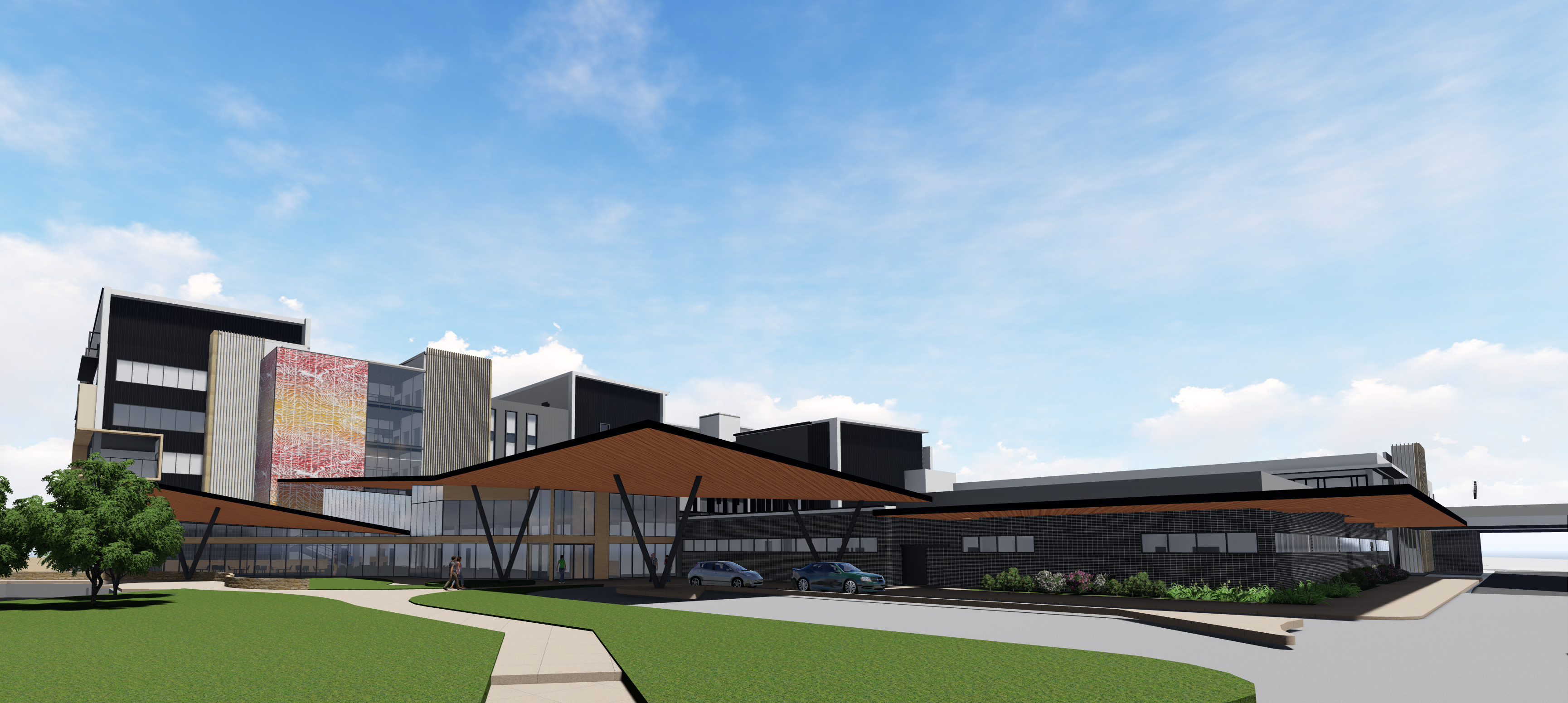 Hornsby Ku-ring-gai Hospital Redevelopment - Stage 1