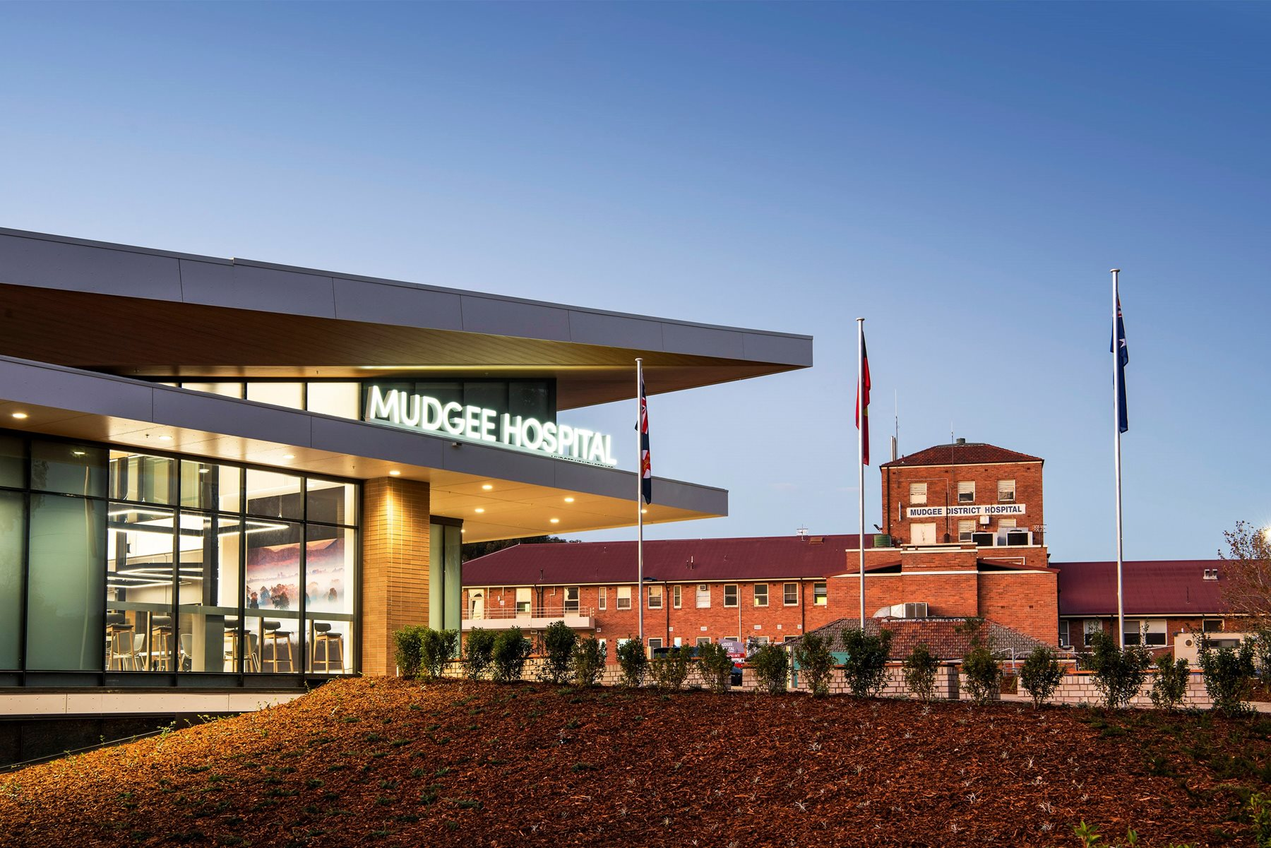$70.7 million Mudgee Hospital opens early