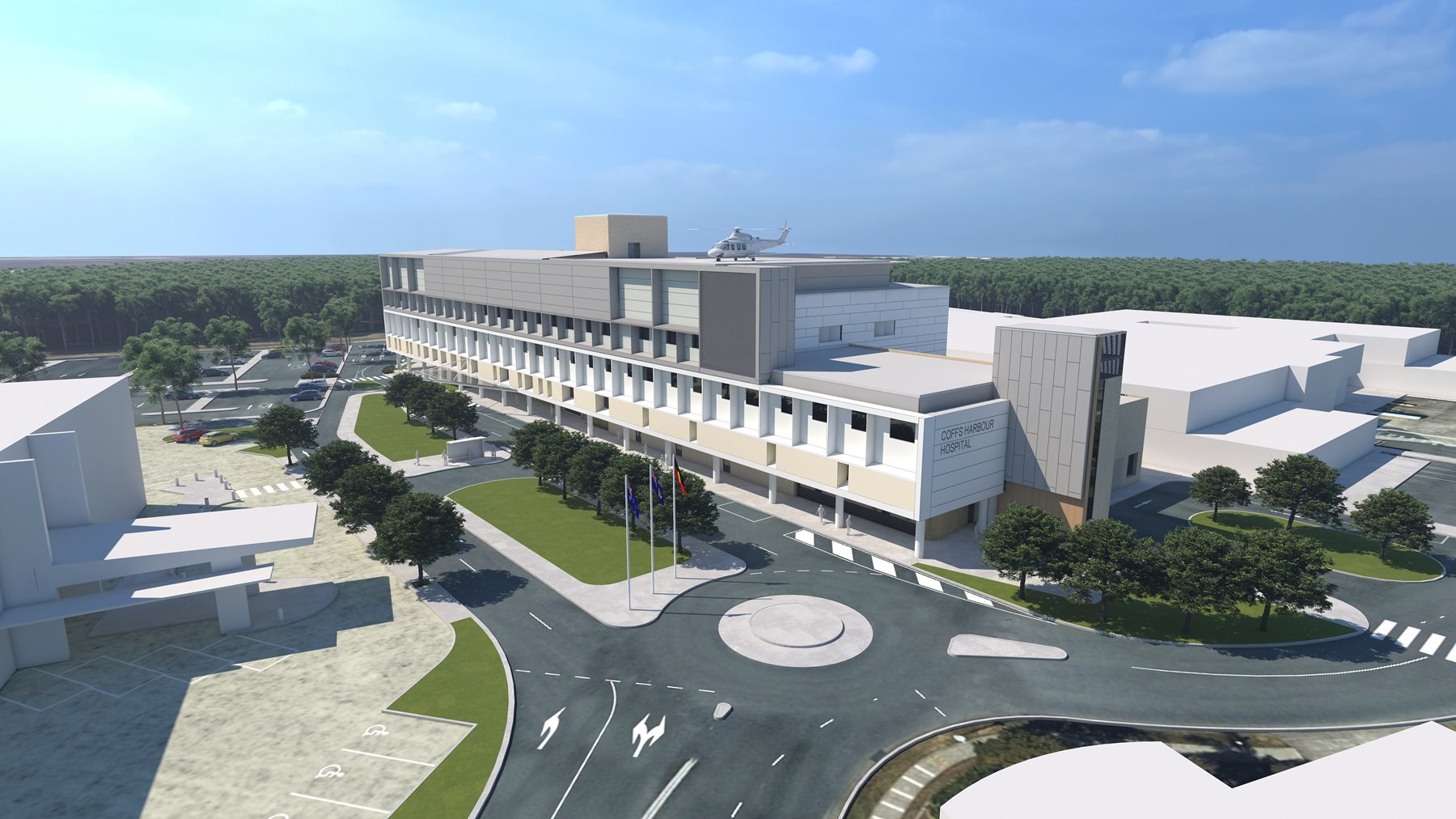 Plans revealed for Coffs Harbour Hospital Expansion