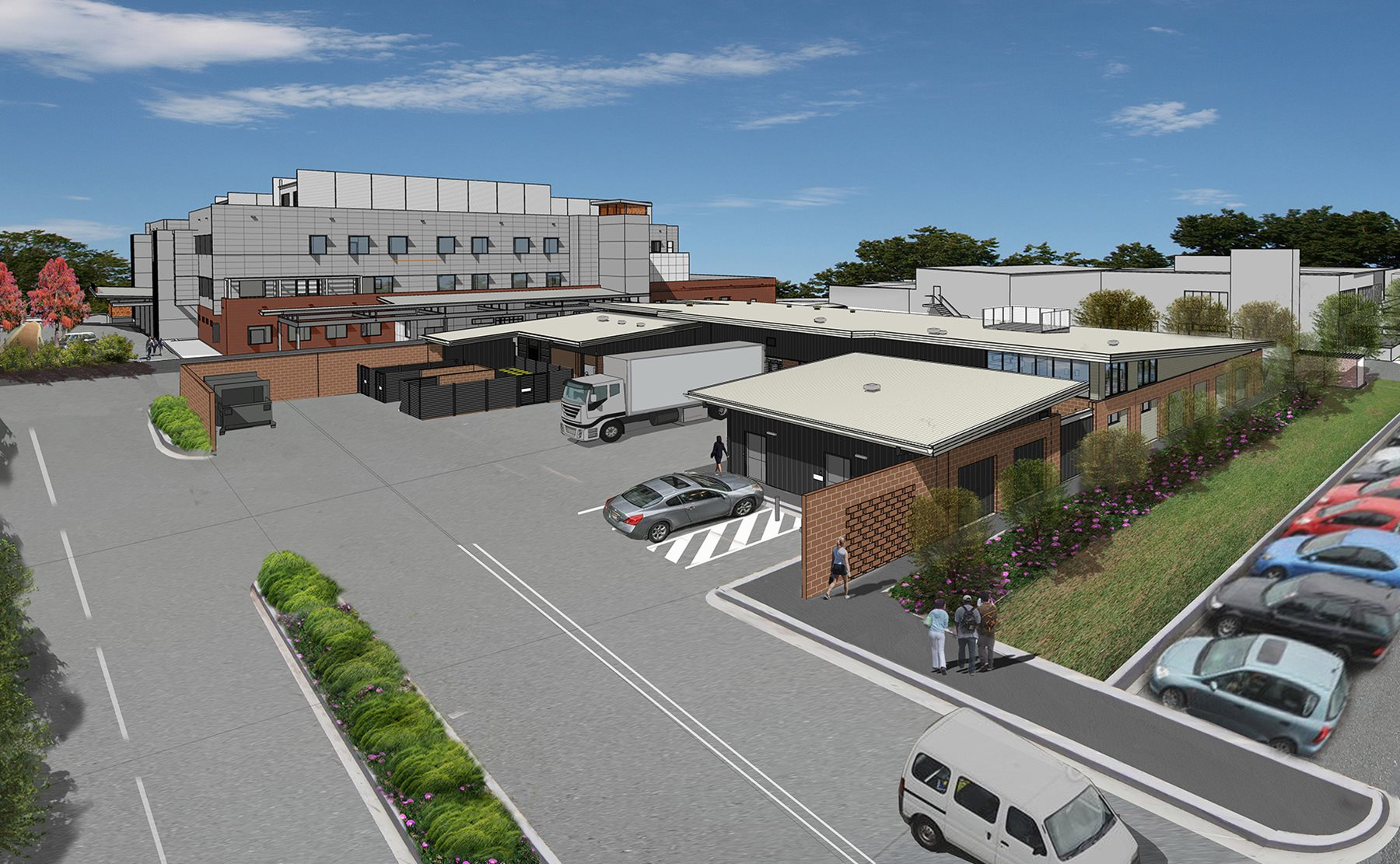 Schematic design released for Griffith Base Hospital