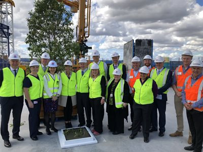 Blacktown Hospital's Acute Services Building 'Topped Out'