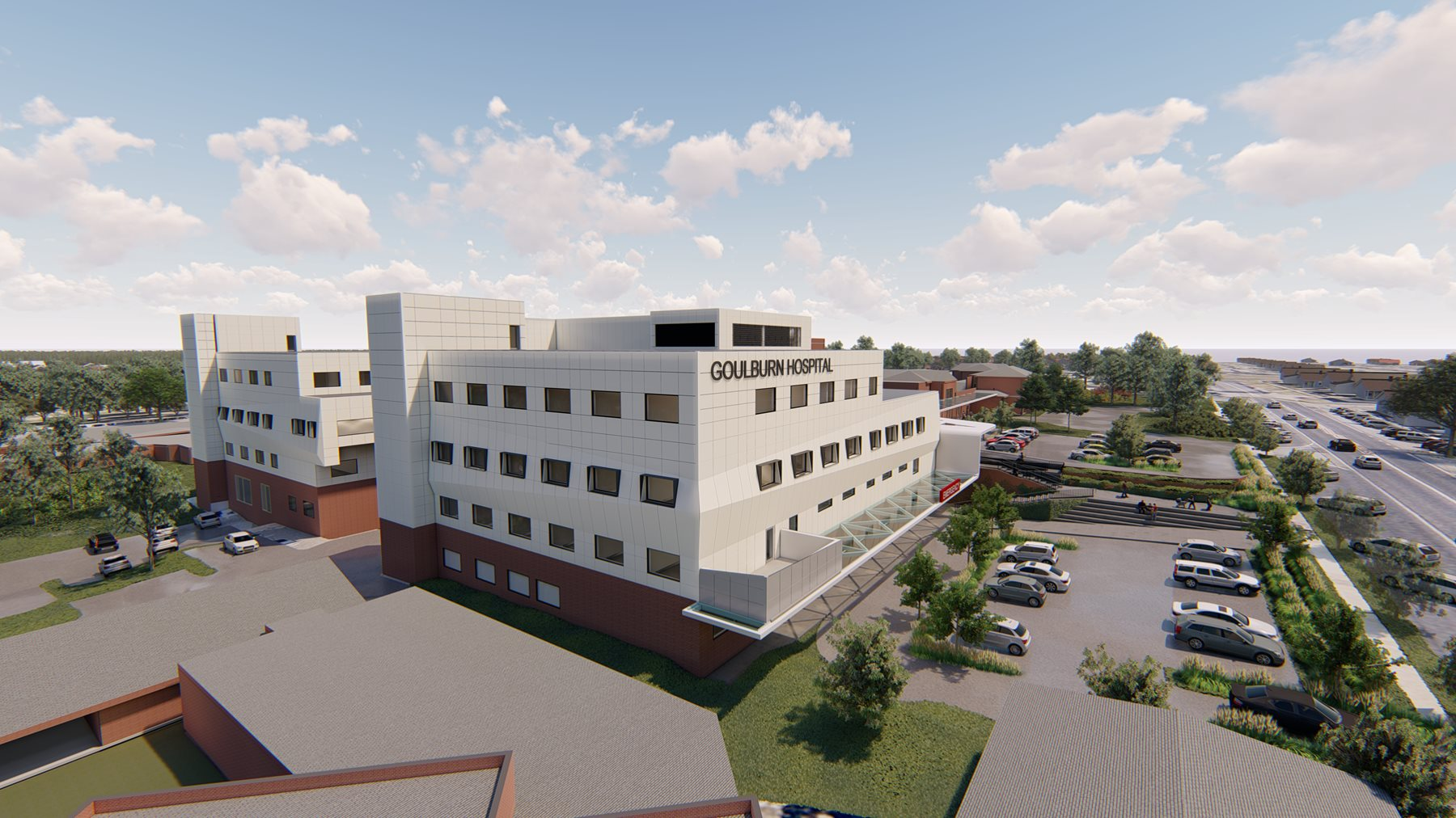 Early works have now begun on the Goulburn Base Hospital Redevelopment